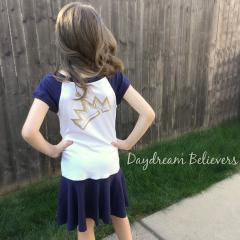 Daydream Believers for Jaxon Paige Descendants Evie tee upcycle