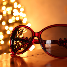 Shaded Lights by Arifah Mardiningrum - Artistic Objects Clothing & Accessories ( lights, shades, glasses, black )