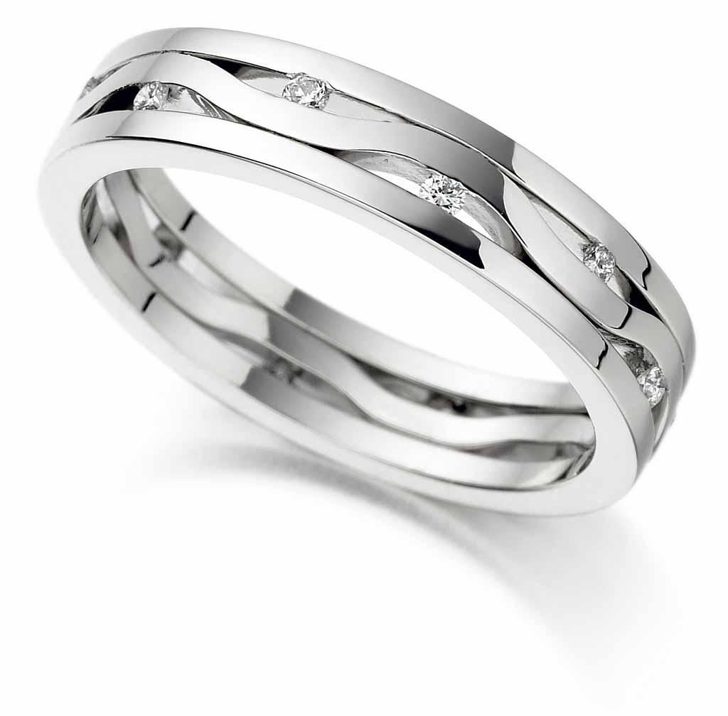 gothic wedding bands
