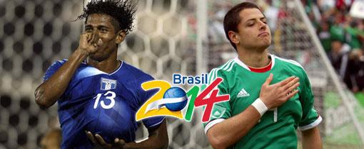 Honduras vs. México en Vivo - Brasil 2014 -  Concacaf