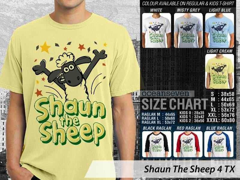 Kaos Movie Shaun The Sheep 4 distro ocean seven