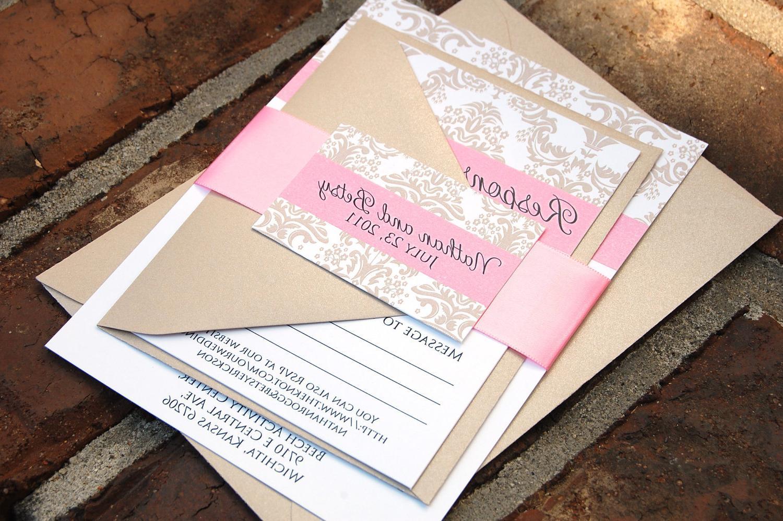 SAMPLE---Betsalita Wedding Invitation Suite. From YellowBrickGraphics