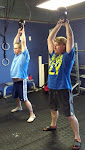The couple who swings kettlebells together, gets strong together.