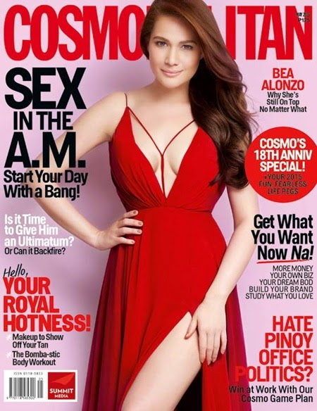 Bea Alonzo - Cosmopolitan Philippines May 2015