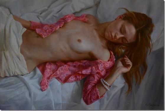 the pearl bracelet - Anna-Marinova - ENKAUSTIKOS