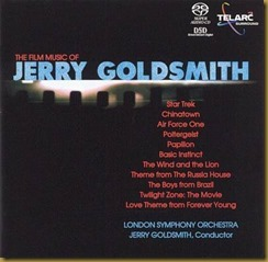 Jerry Goldsmith LSO Telarc
