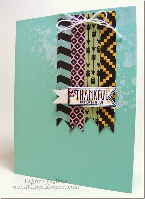 LeAnne Pugliese WeeInklings Amazing Birthday Thank You Stampin Up