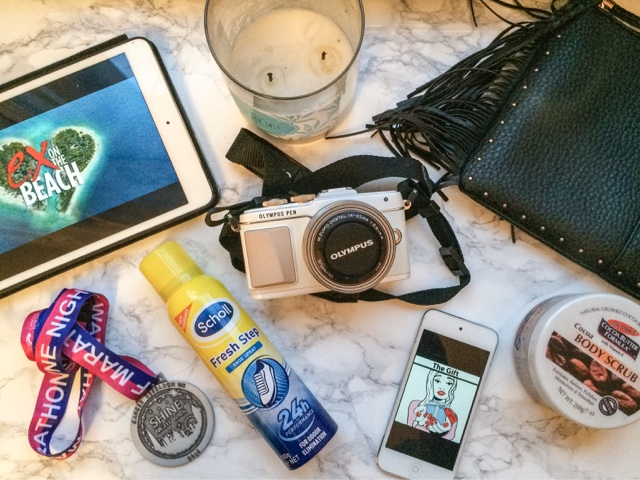 monthly-favourites-september-favourites-fashion-beauty-lifestyle-blog-olympus-pen-epl7-review-cancer-research-shine-walk-palmers-cocoa-body-scrub-scholl-fresh-step-shoe-spray-ex-on-the-beach-pia-mia-the-gift-do-it-again-new-look-cross-body-bag-fresh-sea-salt-candle