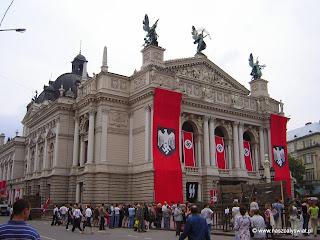 Opera we Lwowie i dekoracja do filmu