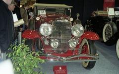 2002.02.16-150.03 Dusenberg J réplique Tourster Derham 1932 chez Christies