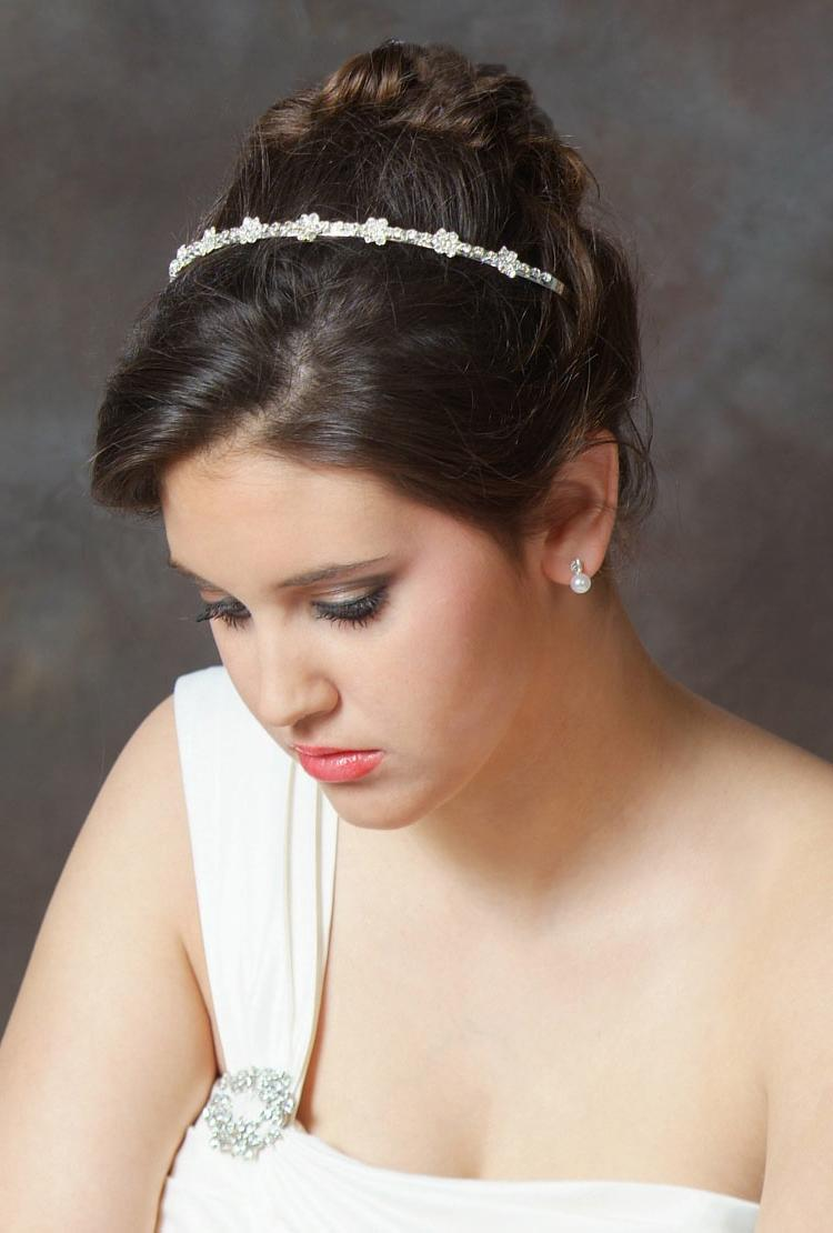 Jazzing Up Bridal Hairstyles