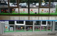 Fensterbeschriftung-Kinderbetreuung