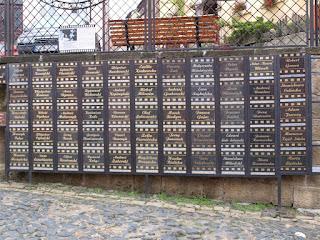 ściana sław