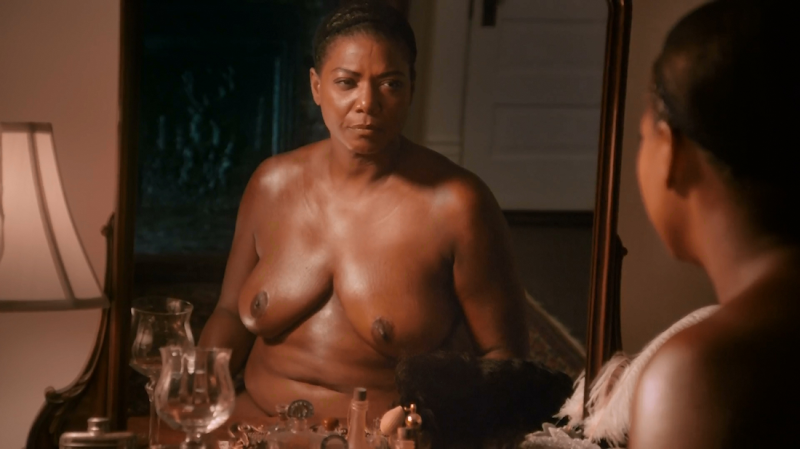 queen latifah topless scene