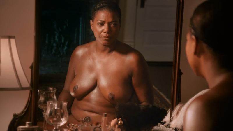 queen latifah topless scene