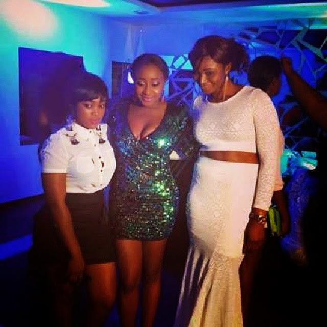 Nollywood actress Ini Edo Celebrates Her 33rd birthday In Style.