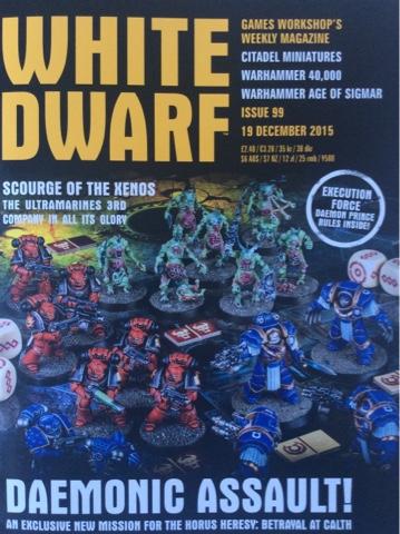 Portada White Dwarf 99