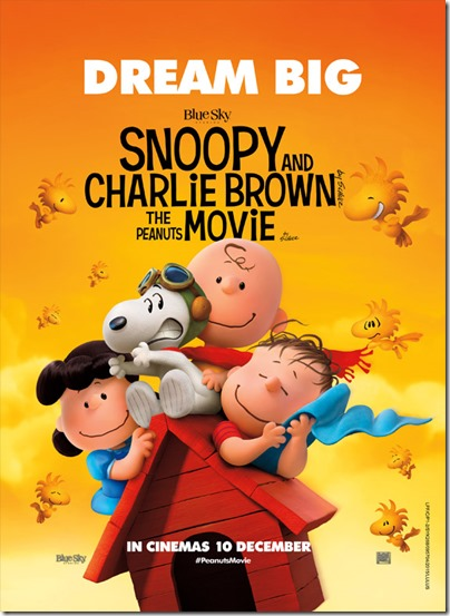 MBO The Peanuts Movie Charlie Brown and Snoopy