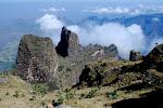 Widok ze szczytu Imet Gogo, 3933m npm