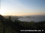 Amasra, Çakraz beldesi yolundan gün batımı manzarası (Amasra county, sun shine panorama from Çakraz village)