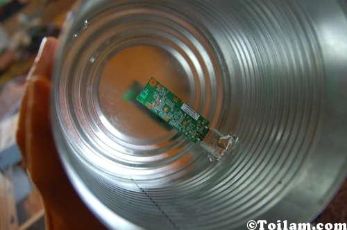 Lon thu sóng wi-fi