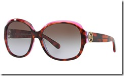 Michael Kors Kauai Sunglasses tortoishell and rose pink