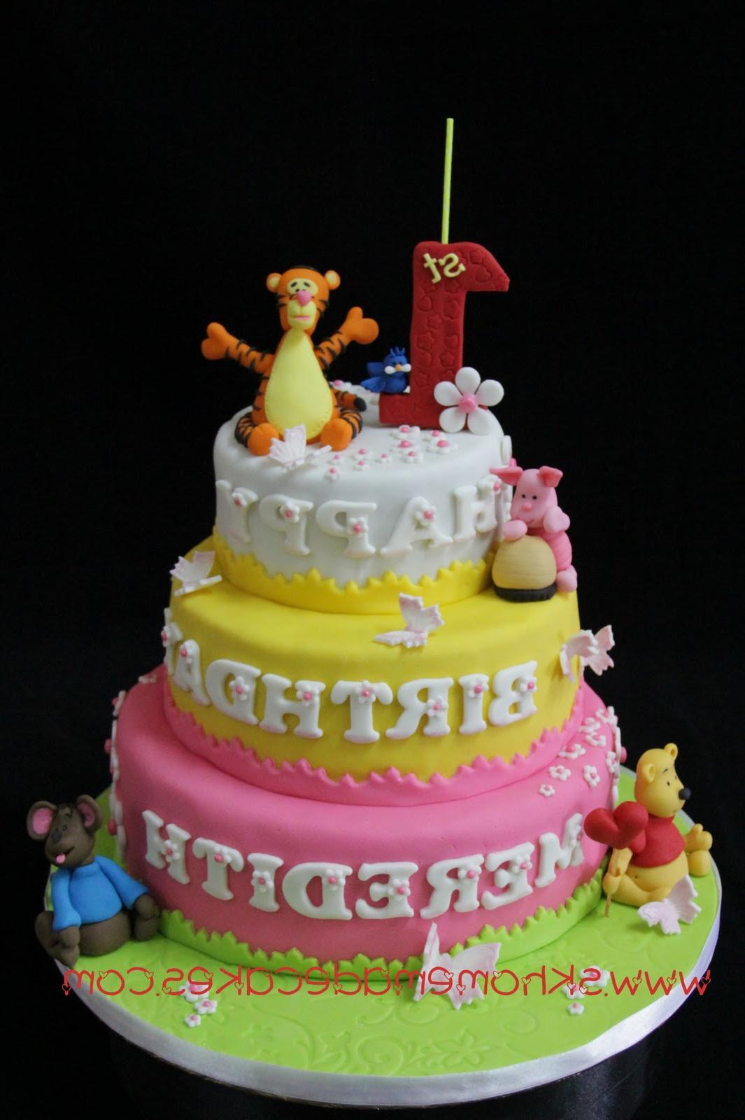 3 tier Winnie The Pooh