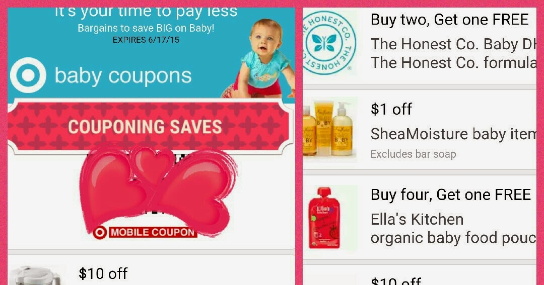 HOT NEW TARGET BABY COUPONS