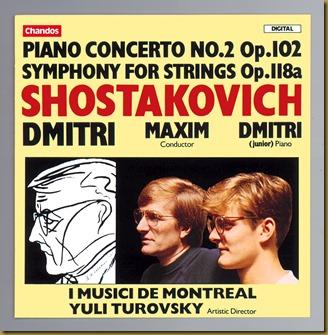 Shostakovich I Musici de Montreal Chandos