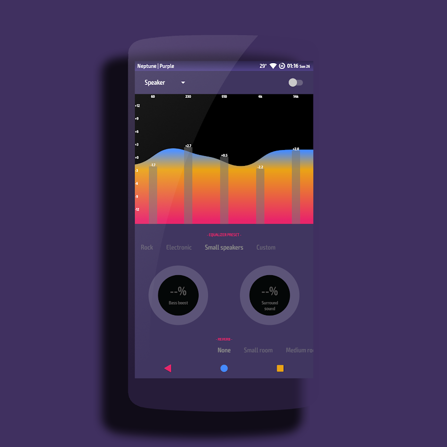 Neptune │Vibrant Theme CM13/12 Screenshot 10