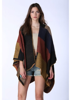 Look for Less: Burberry Prorsum Check Wool and Cashmere-Blend Cape