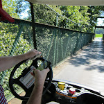 As if Al's golf cart driving wasn't bad enough...the phone comes into play