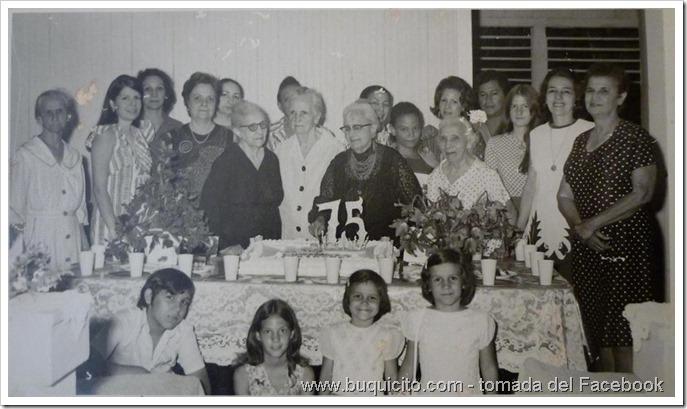Los 75 años de Mamá Chavito