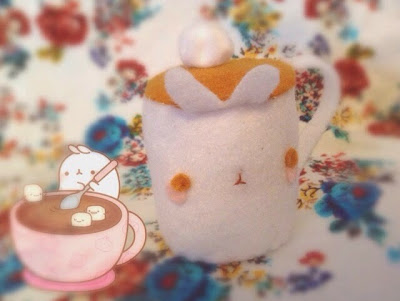 Molang Hot Chocolate Plushie