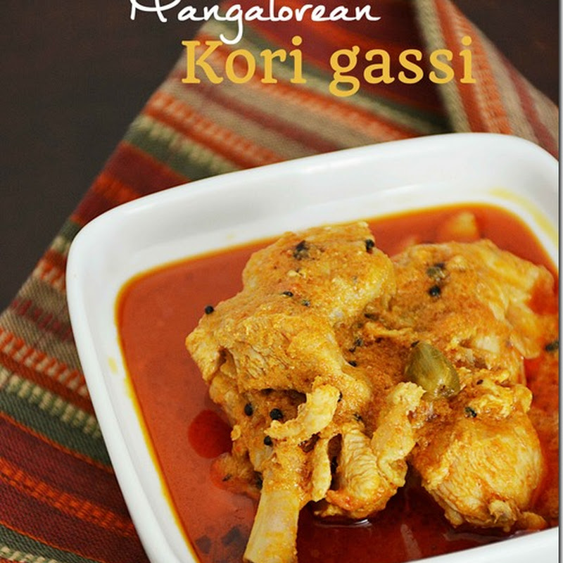 Kori gassi (Mangalorean chicken curry)