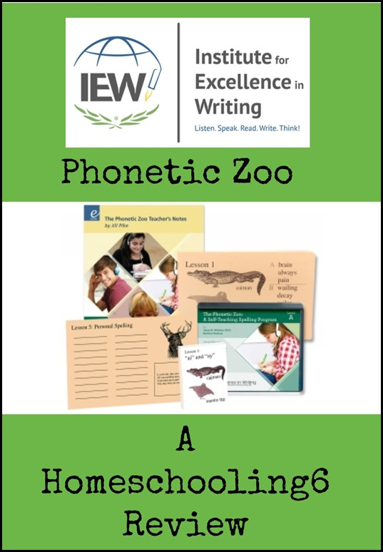 Phonetic Zoo a Homeschoolng6 Review