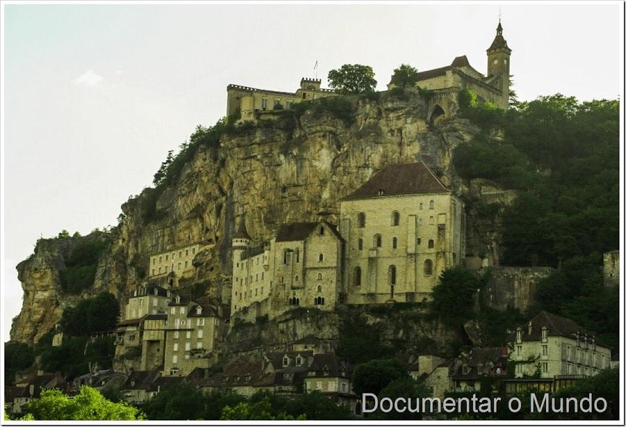 Rocamadour;  locais mais visitados em França; o que visitar na Dordonha