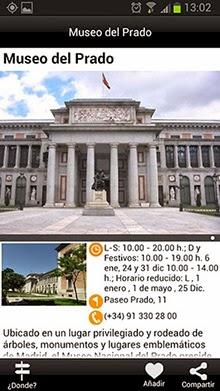 Guía Oficial de Madrid, en tu móvil