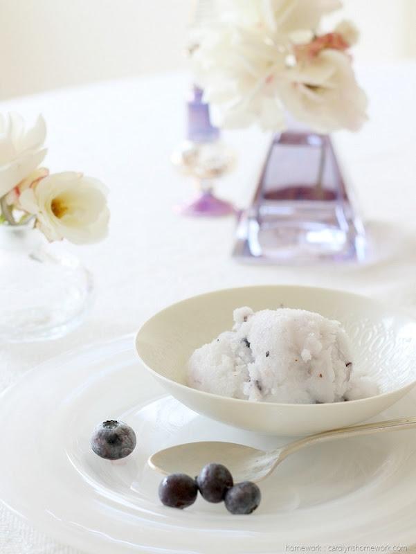 Good Taste: Easy Coconut Blueberry Granita