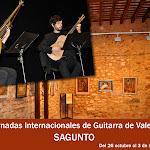 8: Sagunto. X Jornadas Internacionales de Guitarra de Valencia. 2012