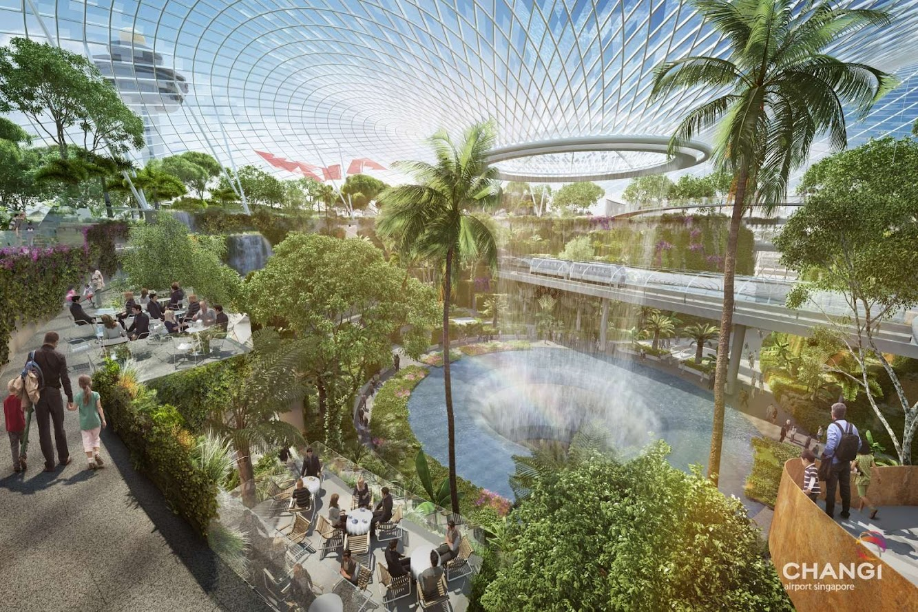 Singapore: Project Jewel by Moshe Safdie