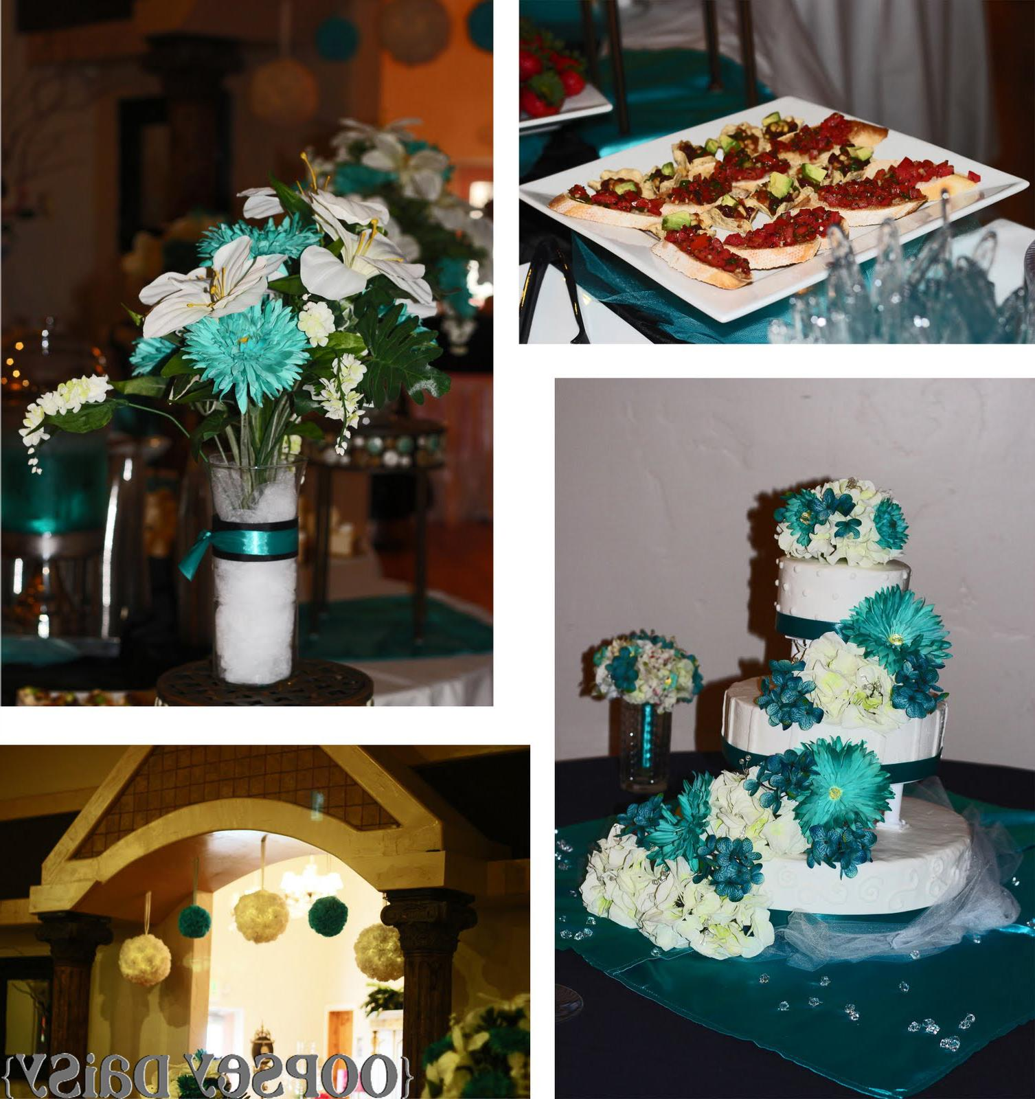 The reception was gorgeous.