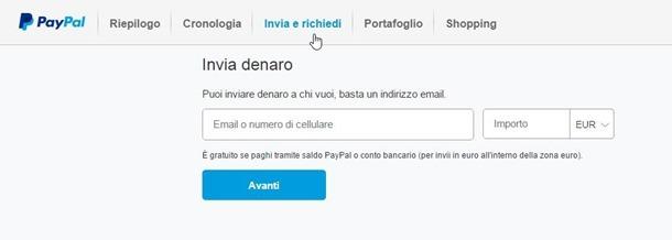 inviare-richiedere-denaro