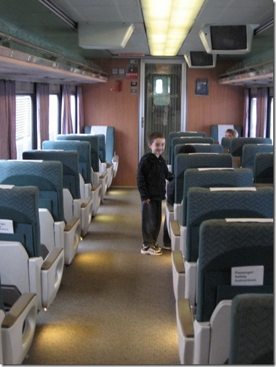 IMG_0691 Amtrak Cascades Talgo Pendular Series VI Business Class Interior at Union Station in Portland, Oregon on May 10, 2008