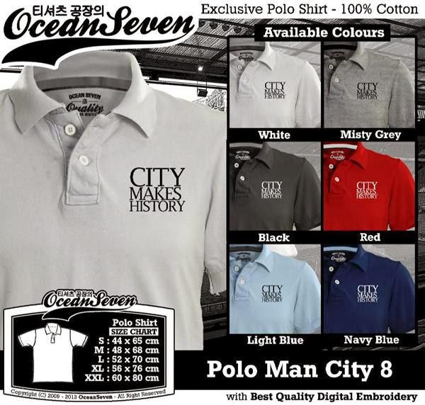 POLO Man City Manchester City 8 Premier League distro ocean seven