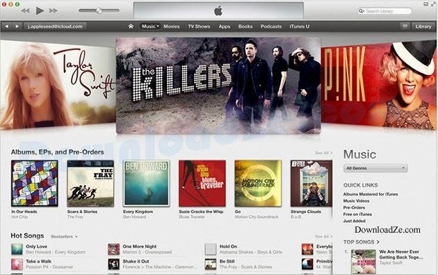 iTunes 12.5.3 (32/64 bit)
