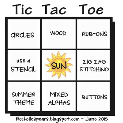 tic tac toe grid - June 2015