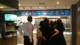 Eons Greek counter and menu