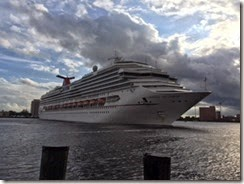 Norfolk Cruise ship 2