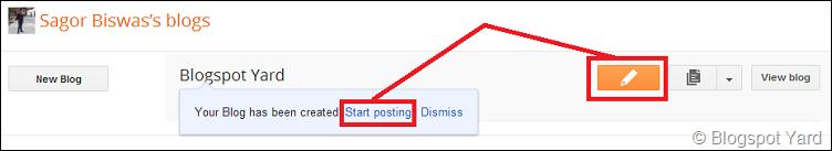 start posting